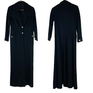 Vintage 80's Long ankle length trench jacket